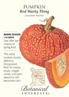Pumpkin Red Warty Thing Seeds